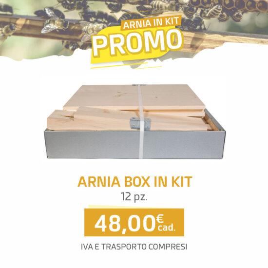 Arnia box 10 favi KIT - Arnie Api