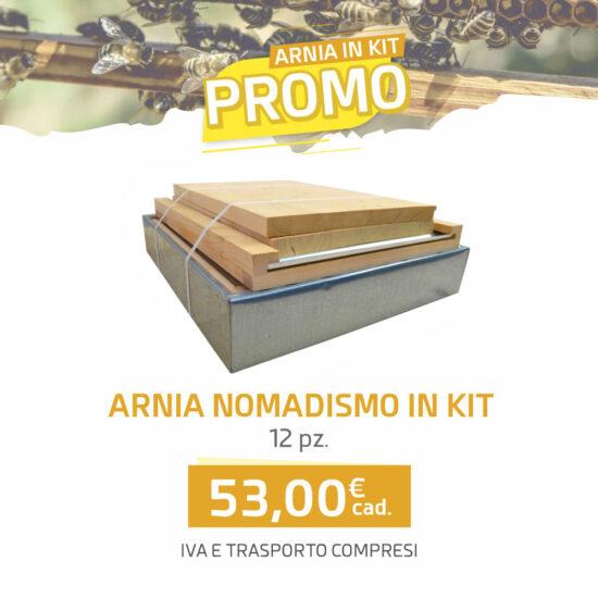 Arnia nomadismo 10 favi KIT - Arnie Api